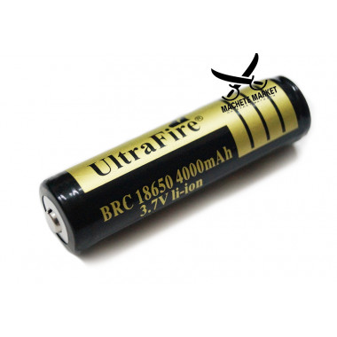 Аккумулятор Li-Ion BRC 18650 Ultra Fire 4000mAh 3.7V
